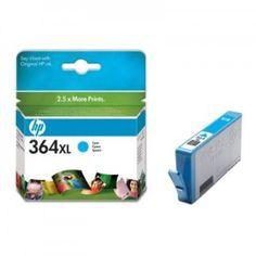 Cartucho de tinta original HP 364XL Cyan (CB323E) Rendimiento: 550 páginas