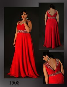 Another flowing chiffon beauty from House of Hems division of Attitude Couture.