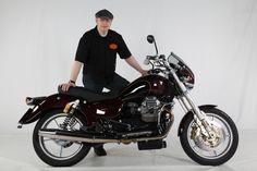 Doc Jensen with Moto Guzzi California EV Custom - www. Moto Guzzi California, Bike Stuff, Custom Bikes, Motorcycle, Vehicles, Custom Motorcycles, Motorcycles, Car, Custom Bobber