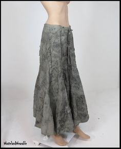 Post APOCALYPTIC SKiRT Fallout Skirt ARmY DRaB GreeN Wasteland Zombie Skirt Size SMALL Apocalypse Clothing by WastelandWearable by WastelandWearable on Etsy