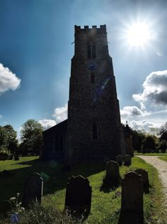 St. Mary Magdalene church, Mulbarton. Late 14th century...my ancestors may have went here!