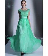 Jewel Green Crystal Bridesmaid Dress 30935
