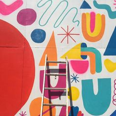 Street art Saturdays  In progress @mikeperrystudio mural for #pacificparkarts! cc: @pieraluisa