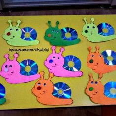 cd snail craft
