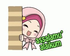 The perfect Muslim Smiling Greeting Animated GIF for your conversation. Discover and Share the best GIFs on Tenor. Cute Love Cartoons, Cute Cartoon, Salam Image, Muslim Greeting, Islamic Cartoon, Anime Muslim, Hijab Cartoon, Cartoon Gifs, Cute Baby Pictures