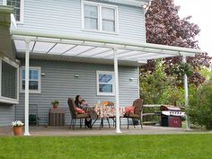 Enjoy The Outdoors Year Round With The Palram Feria Patio Cover. The Feria  Is
