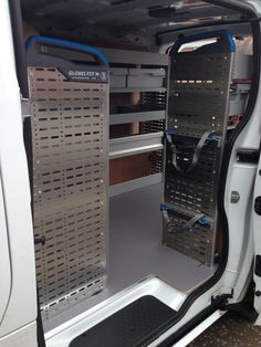 Vauxhall Vivaro 2014 L1 H1 - Sortimo racking, nearside, offside and bulkhead with lashing straps, upgraded floor and plywood walls