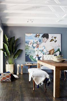 Uma casa em estilo eclético (exótico) impossível de não gostar | Casinha colorida