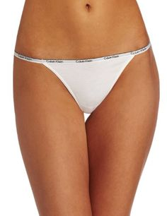 ck one Women`s Cotton String Thong $12.00