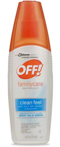off! Family Care Clean Feel Insect Repellant