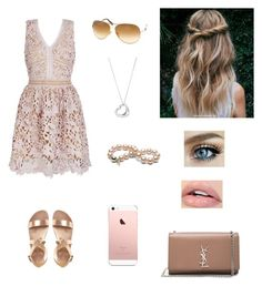 """""""Summer Dress"""" by treasureclarke ❤ liked on Polyvore featuring Tiffany & Co., Tom Ford and Yves Saint Laurent"""