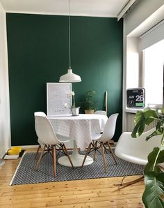 Room Wall Colors, Bedroom Wall, Home Interior Design, Green Colors, My House, Dining Room, Kitchen, Projects, Inspiration