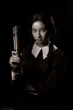 Wednesday Addams Cosplay by Trinity All-Stars - photo by: © Surfside Images