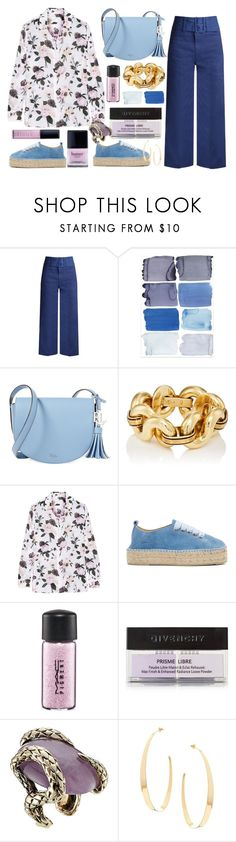 """Equipment"" by thestyleartisan ❤ liked on Polyvore featuring Sea, New York, Lauren Ralph Lauren, Butter London, Equipment, Manebí, MAC Cosmetics, Givenchy, Roberto Cavalli and Lana"