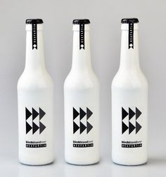 I don't care for beer, but would buy this beautiful bottle just for the design if I came across it. MEKFARTIN Homebrew Beers.