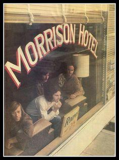 The Doors. Morrison Hotel photo shoot #jimmorrison #thedoors #thedoorsmorrisonhotel