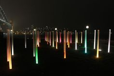 HASSELL lights the way to Walsh Bay for Vivid Sydney « World Landscape Architecture – landscape architecture webzine