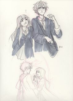 Hyouka as Harry potter by burdge