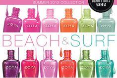 ZOYA Sumer 2012 Collection