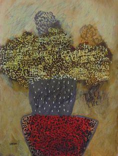 "Saatchi Art Artist deny pribadi; Painting, ""tree of life"" #art"