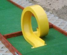 mini golf and putt putt obstacles for all types of miniature golf courses Golf Card Game, Miniature Golf, Putt Putt, Outdoor Toys, Golf Courses, How To Plan, Layouts, Outdoor Games