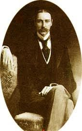 *JOHN ASTOR:found a few lifejackets+ dissected them to show his wife what was inside.He+his wife got on a lifeboat+it was full so,they got out for a 3rd class washer woman +her child.He put his wife on one of the last lifeboats,when he asked to accompany her,he was turned down by Lightoller...As the ship went down,Astor was last seen walkingKitty, their Airendale.His body was found w/750 British lbs in his pocket+covered in soot which meant that he had been crushed by the forward funnel.