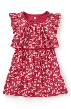 Tea Collection 'Giacomo's Garden' Floral Print Dress (Toddler Girls, Little Girls & Big Girls) available at #Nordstrom