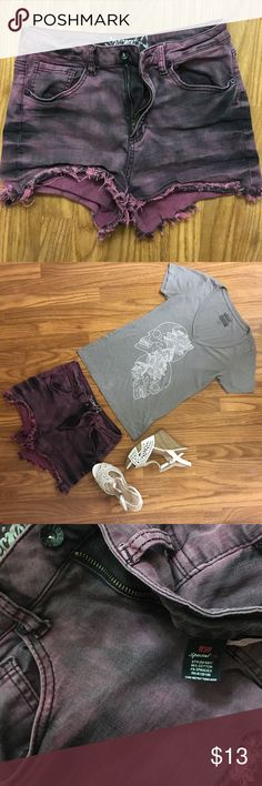 Burgundy Shorts Burgundy stretchy jean shorts are perfect for summer and in flawless condition. Special A Shorts Jean Shorts