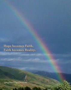 """""""Hope & Faith"""" - where are you in the journey?"""