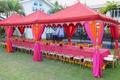 My idea of a garden party! Raj Tents Honolulu Pergola Dining Tent