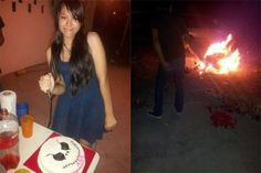 Ana's birthday bash: Friends set helpless dog on fire, pose ... - Care2 News Network