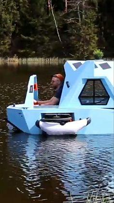 Camping Ideas, Camping Hacks, Outdoor Fun, Outdoor Camping, Tent Camping, Outdoor Gear, Camper Boat, Mini Camper, Kayak Fishing