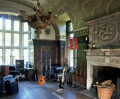 Tour Sting and and Trudie Styler's 16th-Century Manor House in England Photos | Architectural Digest