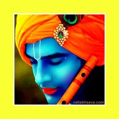 Shri Krishna with flute
