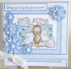 House-Mouse & Friends Monday Challenge: How do you interpret Feeling Blue? HMFMC144