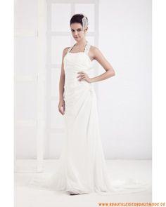 2013 Romantisches elegantes Brautkleid aus Satin wie Seide