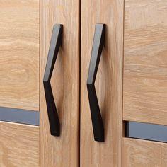 "Large Dresser Pulls Handles Black Drawer Knobs Pulls Handles Wardrobe Handles Pulls Knobs Kitchen Cabinet Handles Pull Knob 6.3"" 7.56"" 10"" by MINIHAPPYLV on Etsy https://www.etsy.com/listing/559246595/large-dresser-pulls-handles-black-drawer"