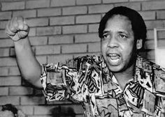 Chris Hani, born Martin Thembisile Hani June 1942 – 10 April leader of the South African Communist Party and chief of staff of Umkhonto we Sizwe, the armed wing of the African National Congress (ANC) Most Famous Quotes, Famous Words, Hani, African National Congress, Benz S, Chief Of Staff, Great Leaders, 24 Years, African History