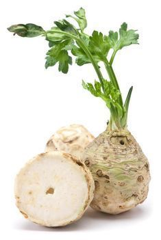 Celeriac is a variety of celery that's grown for its large root. It can be eaten both raw and cooked and is often used to make. Types Of Vegetables, Root Vegetables, Risotto, Kinds Of Soup, Celerie Rave, Celeriac, Pepper Seeds, Apple Salad, Whole Food Recipes