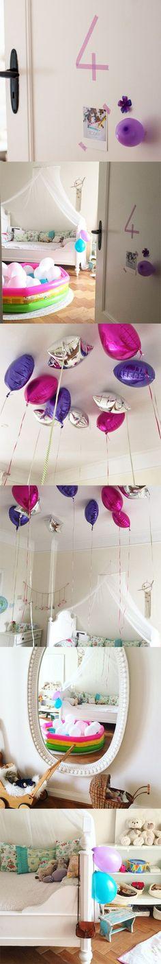 Kindergeburtstag Dekoration Luftballon Party