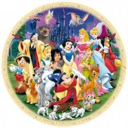 Produktbild von Ravensburger 15784 - Disney: Wonderful World (round jigsaw) - Jigsaw 1000 pieces