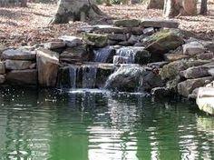 Výsledek obrázku pro koi pond waterfall design