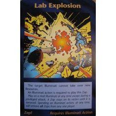 Illuminati Card Game -Lab Explosion