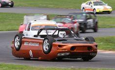 Upside Down Camaro Race Car
