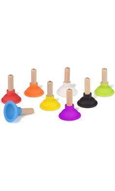 Fred & Friends PARTY PLUNGERS Drink Markers, Set of 8 Best Price