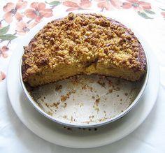 orange crumb cake