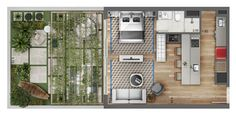 Agatha O I 40 Awesome Apartment House Plans Apartment Layout, Apartment Plans, Apartment Design, Small House Plans, House Floor Plans, Tyni House, Tiny Apartments, 3d Home, Architecture Plan