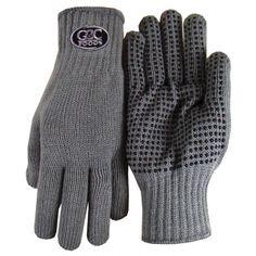 Embroidered Gripper Gloves