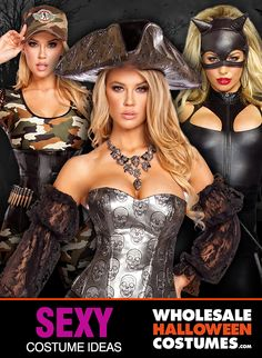 Check Out The Hottest Sexy Halloween Costumes, Licenses & Styles At Wholesale Prices