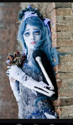 Lots Of Inspiration Diy Makeup Tutorials And All Accessories You Need To Create Your Own Corpse Bride Emily Costume For Halloween